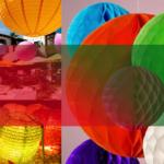 Бумажные фонарики из Китая