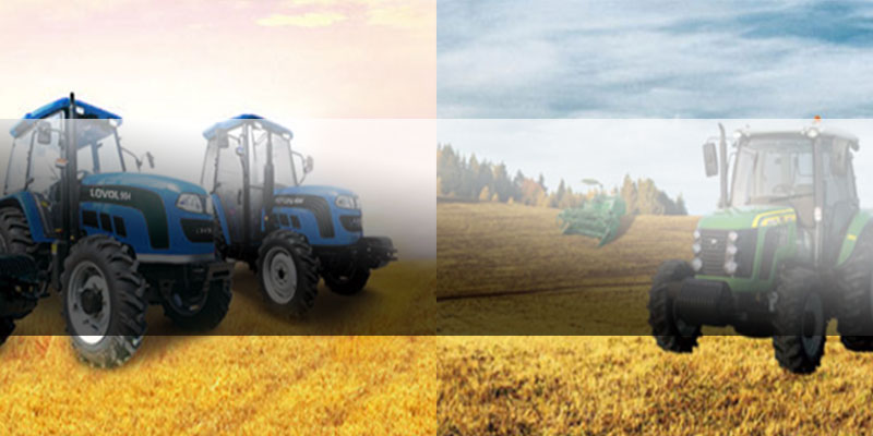 Тракторы из Китая