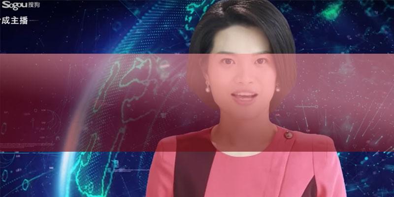 Первая цифровая телеведущая - бизнес идеи из Китая
