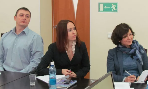 Внимательные слушатели на семинаре по бизнесу с Китаем, Томск